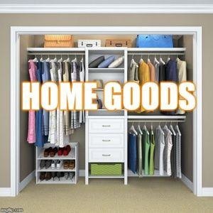 Homes goods and decor